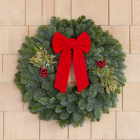 Sherwood Forest Farms | Wreath Fundraiser | Our Products